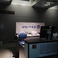 Photo taken at United Airlines Check-In Counter by Robin B. on 8/25/2013