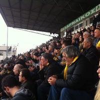 Photo taken at Γήπεδο Αχαρναϊκού by Antonis J. D. on 3/16/2014
