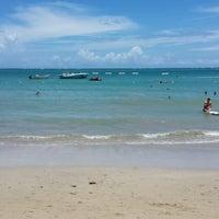 Photo taken at Isla Verde Beach - Balneario Isla Verde (La Playa) by Lissbeth L. on 8/18/2013