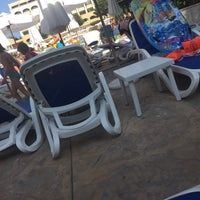 Photo taken at Main Pool @ Sol Palace Hotel by Emma ♡ D. on 8/1/2016