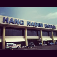 Photo taken at Hang Nadim International Airport (BTH) by tva t. on 9/16/2012