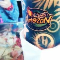 Photo taken at Café Amazon by Karn S. on 1/27/2014