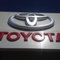 Photo taken at Toyota by Sara P. on 5/2/2013