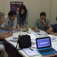 Photo taken at Sevilla Habla Languages - Spanish Courses in Seville - Cursos de español en Sevilla - Cursos de inglés en Sevilla by Pablo T. on 4/25/2013