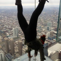Photo taken at Skydeck Chicago by Eeks R. on 4/12/2013