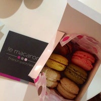 Photo taken at Le Macaron French Pastries by Jaymie on 3/28/2014