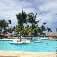 Photo taken at Pool Iberostar Punta Cana & Dominicana by Andi F. on 5/1/2013