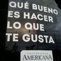 Photo taken at Universidad Americana by Fabio O. on 4/2/2013