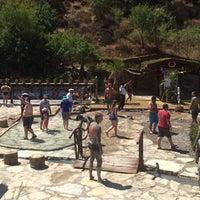Photo taken at Dalyan çamur banyosu ve kaplıcaları by Erhan O. on 7/8/2016