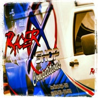 Photo taken at racer x shop by Racer X. on 8/3/2013