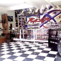 Photo taken at racer x shop by Racer X. on 10/14/2013