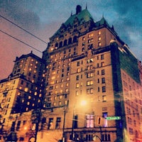 Photo taken at The Fairmont Hotel Vancouver by Anders F. on 1/1/2014