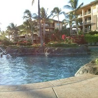 Photo taken at Koloa Landing Resort Pool by Asholiday on 10/26/2013