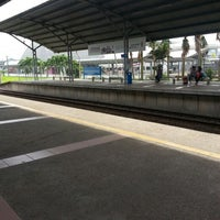 Photo taken at KTM Line - Bandar Tasik Selatan Station (KB04) by Aen Ceya H. on 7/18/2013