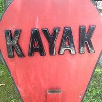 Photo taken at Atlantic Kayak by kerry m. on 6/15/2013