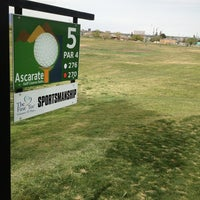Photo taken at Ascarate Golf Course by Andrea T. on 3/30/2013