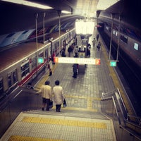 Photo taken at Yodoyabashi Station by frbd_apl on 11/23/2012