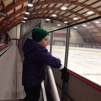 Photo taken at Minnehaha Academy Ice Arena by Brian M. on 12/15/2013