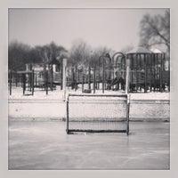 Photo taken at Hiawatha School Park by Brian M. on 1/5/2013