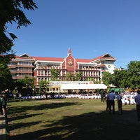 Photo taken at Debsirin School by Supasit v. on 6/9/2013