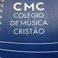 Photo taken at CMC - Colégio de Música Cristão by Raphael C. on 8/17/2013