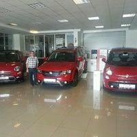 Photo taken at FIAT Günay otomotiv by Mustafa S. on 8/26/2015