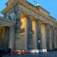 Photo taken at Berlin City Tour – Brandenburger Tor by selfy o. on 3/23/2014