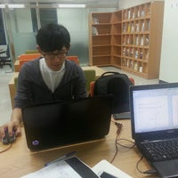 Photo taken at 단국대학교 국제관 by Chang Jip J. on 9/25/2013
