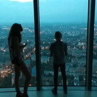 Photo taken at Punkt Widokowy Sky Tower by Larry V. on 9/20/2014