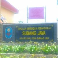 Photo taken at SMK Subang Jaya by Zima Z. on 5/2/2013