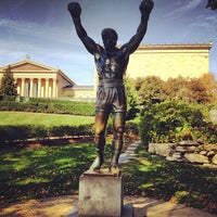 Photo taken at Rocky Statue by Ivan M. on 10/20/2012