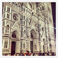 Photo taken at Cattedrale di Santa Maria del Fiore by Macelleria T. on 5/18/2013
