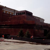 Photo taken at Lenin's Mausoleum by Nikita K. on 4/18/2013