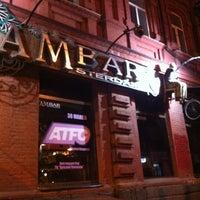 Снимок сделан в Амбар / Amsterdam Bar (Ambar) пользователем Дмитрий А. 3/31/2013