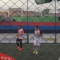Photo taken at Arena Azambuja by Amparo V. on 3/22/2015