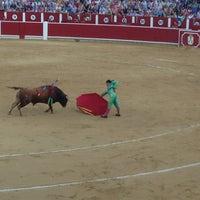 Photo taken at Plaza De Toros Albacete by Екатерина Я. on 9/16/2013
