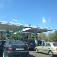 Снимок сделан в Газпромнефть АЗС № 113 пользователем Alexandra 8/22/2015