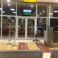 Photo taken at Prince Nayef Bin Abdulaziz International Airport (ELQ) by Habeebah A. on 3/22/2013