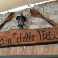 Photo taken at Osteria Pian Delle Viti by Mayamax3d M. on 1/5/2014