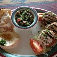 Photo taken at Nunu's Mediterranean Cafe by Cari H. on 5/24/2013