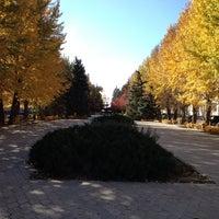 Photo taken at Сквер на Фонтанке by Dinara D. on 10/15/2013