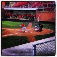 Photo taken at Bing Crosby Stadium by Jen B on 6/26/2013