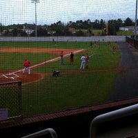 Photo taken at Bing Crosby Stadium by Jen B on 7/2/2013