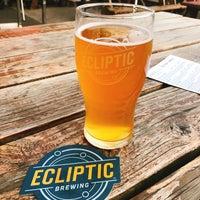 Foto tomada en Ecliptic Brewing por Christian M. el 8/15/2017