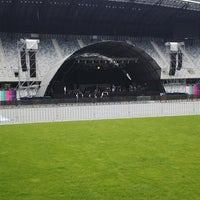 Photo taken at Cluj Arena by Sarca V. on 6/7/2013