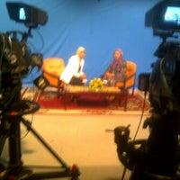 Photo taken at Grand Studio TVRI Sumbar by Andriani F. on 11/7/2012
