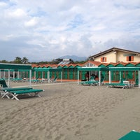 Photo taken at Bagno Internazionale by Roberto G. on 9/5/2014
