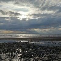 Photo taken at Burghead Beach by John F. on 8/26/2013