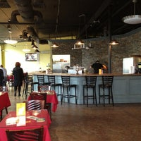 Photo taken at 2Wives Brick Oven Pizza by Sean M. on 4/23/2013
