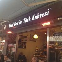 11/16/2013 tarihinde Cem C. C.ziyaretçi tarafından Fazıl Bey'in Türk Kahvesi'de çekilen fotoğraf